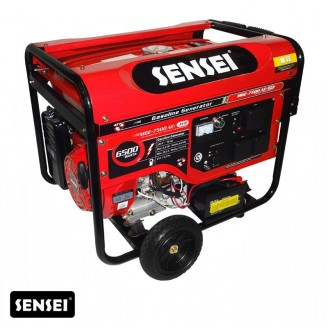 Generador Grupo Electrógeno Sensei Mge 7500 6500w A/elec