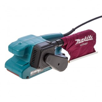 Lijadora De Banda Makita 650w 76x457mm Vel Variable Inglesa