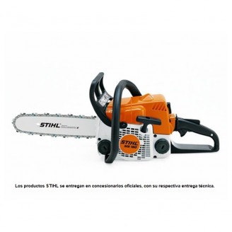 Motosierra STIHL MS180 31,8cc 2HP  + Aciete 2T + Lima
