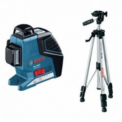 Nivel Laser 3 Lineas Gll 3-80 P Bosch 360 + Tripode Bs150